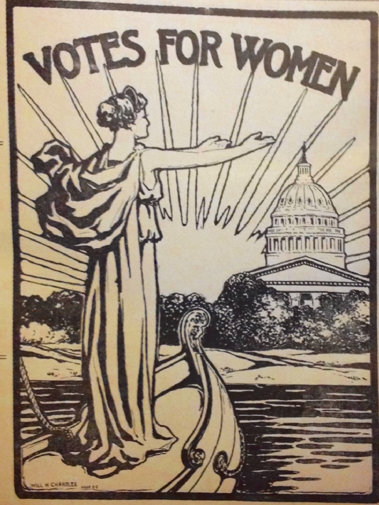 The Art Of Suffrage Cartoons Reflect America S Struggle For Equal Voting Rights Constitutional Accountability Center